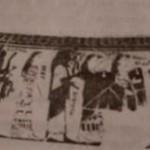 Бракосочетание Фетиды и Пелея, динос, ок. 580 г.