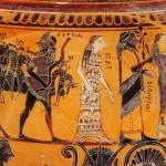 Бракосочетание Фетиды и Пелея, динос