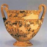 Кратер Клития, ок. 570 г. до н.э., Археологический музей, Флоренция