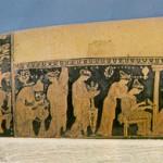 Мифологические браки, эпинетрон, ок. 420 г. до н.э., Афины, Национальный музей