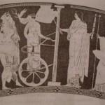 Поднятие невесты, лутрофор, ок.430 г. до н.э., Берлин, Музей Античности