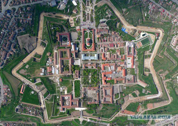 Крепость Альба Юлия. Румыния.