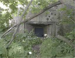 Древний Великий Русский оборонительный вал на Украине. В Вал встроен бетонный ДОТ 1941г.