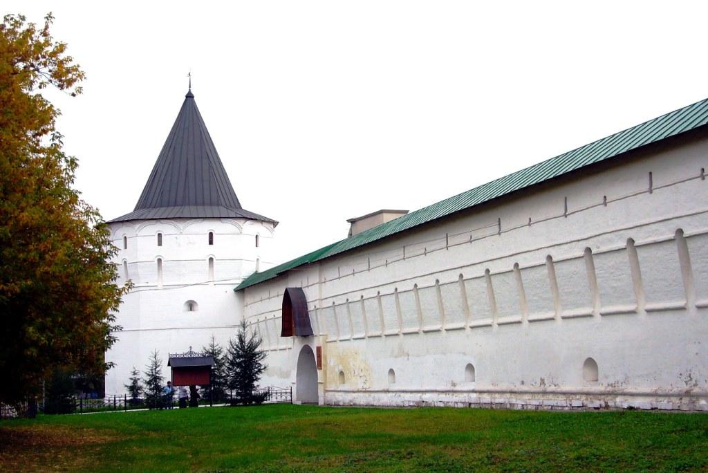 Рисунок 5.Башни и прясла Новоспаского монастыря