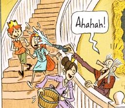 Ономатоп Ahahah! в комиксах